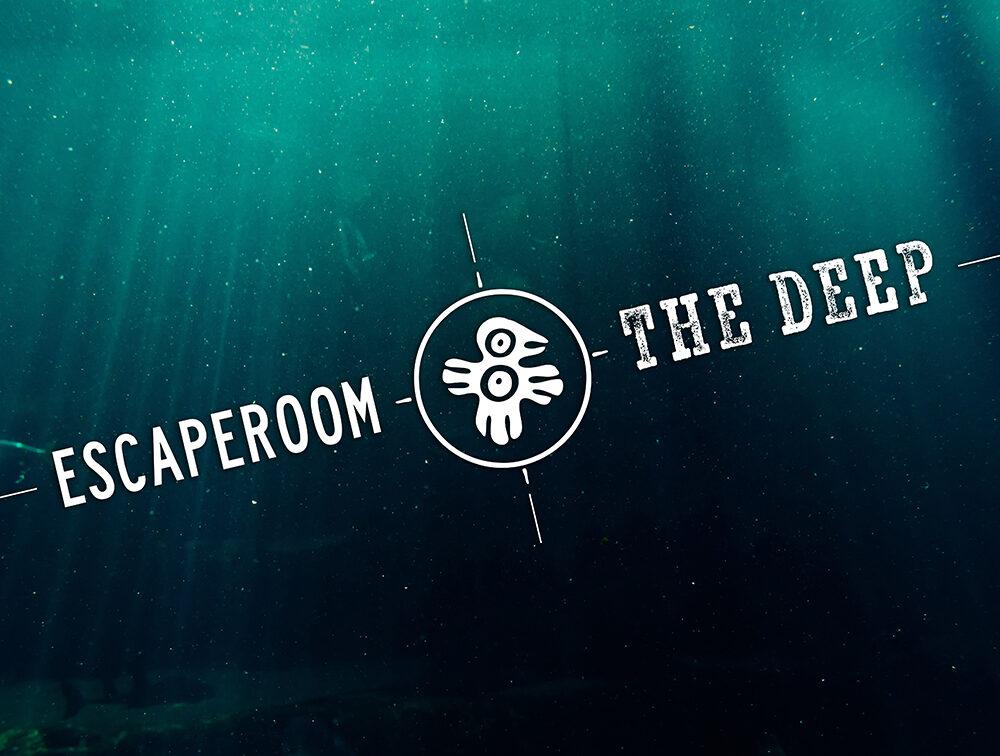logo the deep achtergrond